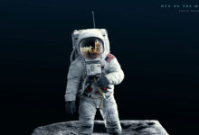Men On The Moon - Modelo 3D